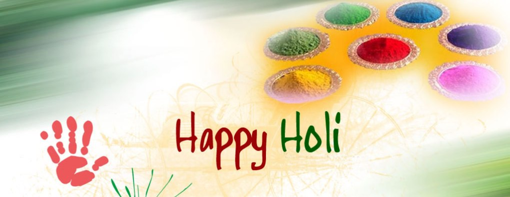 Happy Holi Images for Facebook cover
