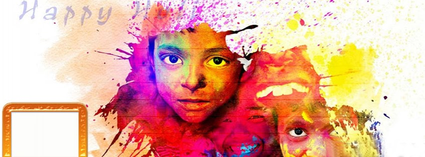 Happy Holi FB Facebook Covers, Photos for Free Download