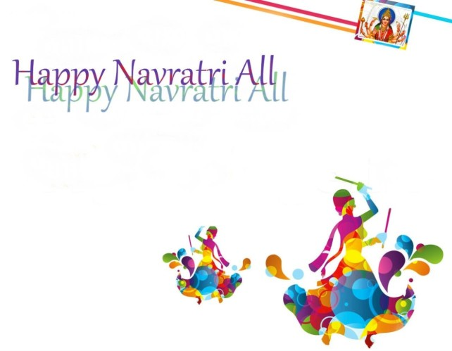 happy Navratri 2014 Wallpaper
