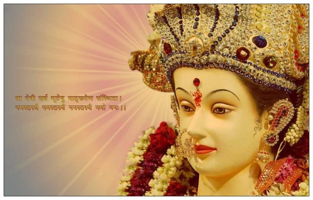 Maa Durga Navratri 2014 Wallpaper - 03