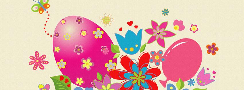 colorful Easter fb images