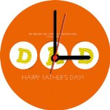 Father's day gift clock
