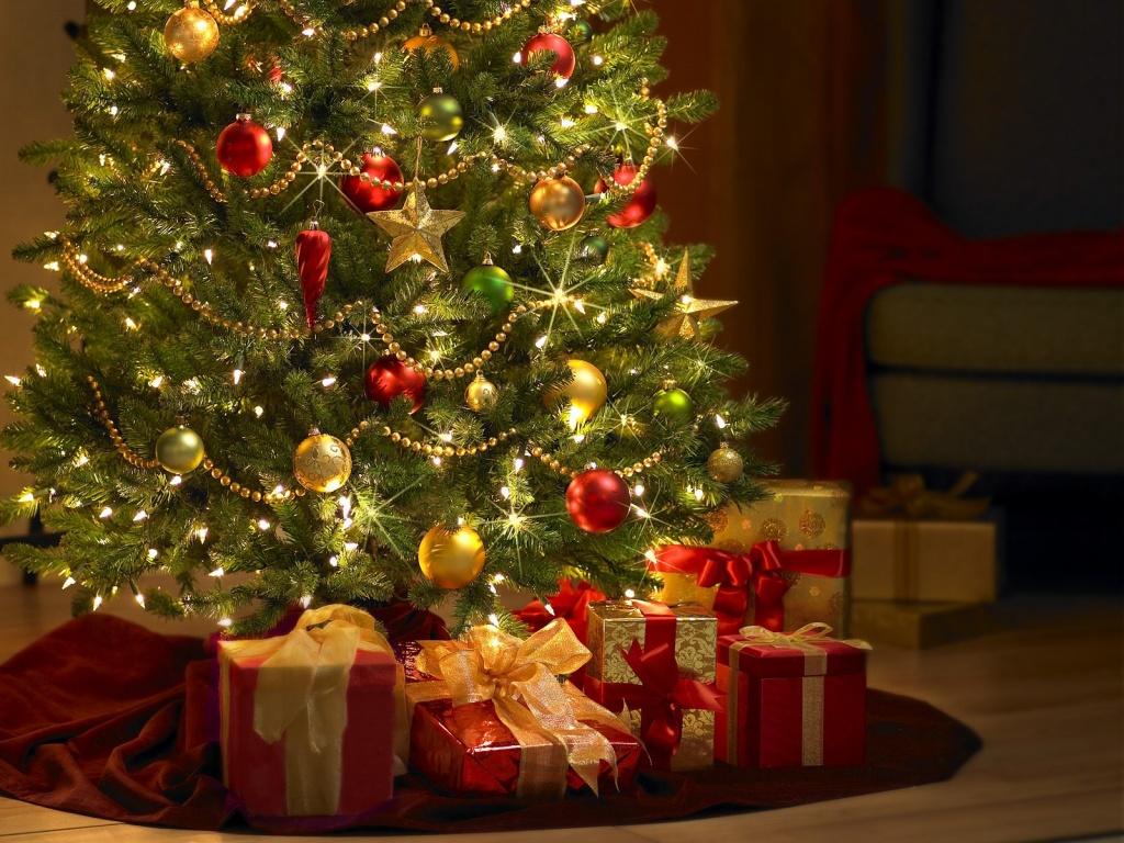 Most Inspiring Wallpaper Christmas Chromebook - christmas-tree-wallpaper1024x768  Graphic_49421 .jpg