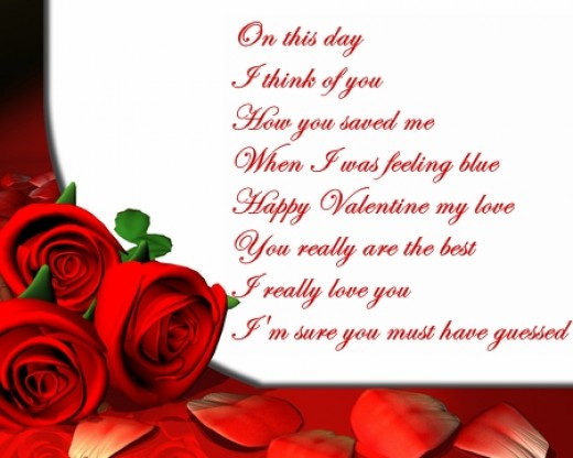 valentine's poems - photo #10